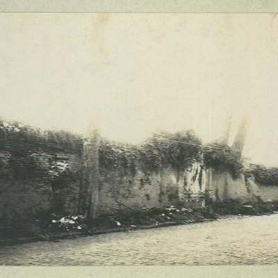 Mur extérieur de l'usine Seydoux après la libération de 1918