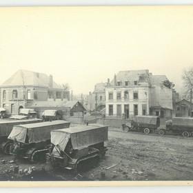 L'école des filles vue générale en 1918.
