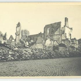 La rue Jean-Jaurès en 1918.