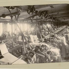Peignage de la laine