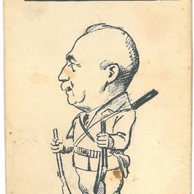 Caricatures du conseil municipal durant la Pentecôte de 1926