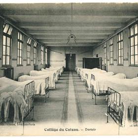 Le dortoir du collège du Cateau-Cambrésis