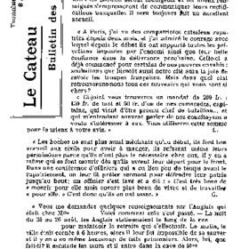 Le Bulletin des évacués du 8 avril 1917