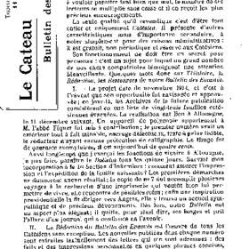 Le Bulletin des évacués du 11 décembre 1916