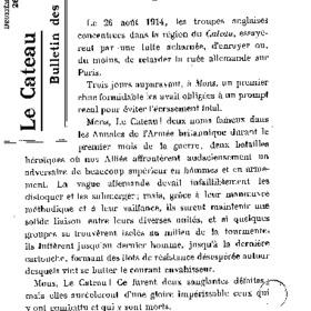 Le Bulletin des évacués du 26 août 1916