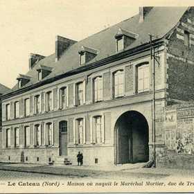Maison où naquit le Maréchal Mortier, duc de Trévise.jpg