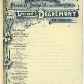 Ordre de réquisition des chambres de la Kommandantur le 8 septembre 1918