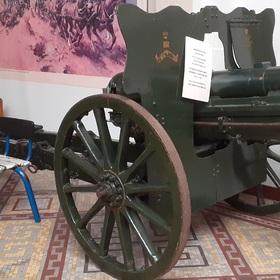 Photographie du canon britannique