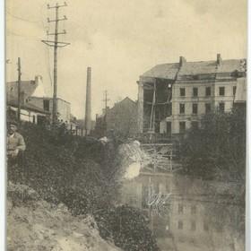Pont de la Selle au Cateau détruit