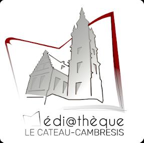 Logo, médiathèque du Cateau-Cambrésis